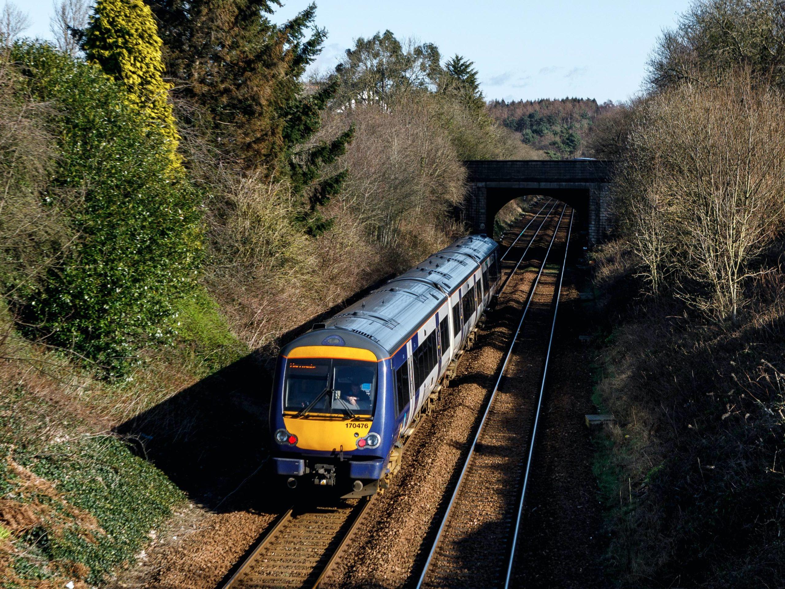 Person dies on train line between Harrogate and Leeds