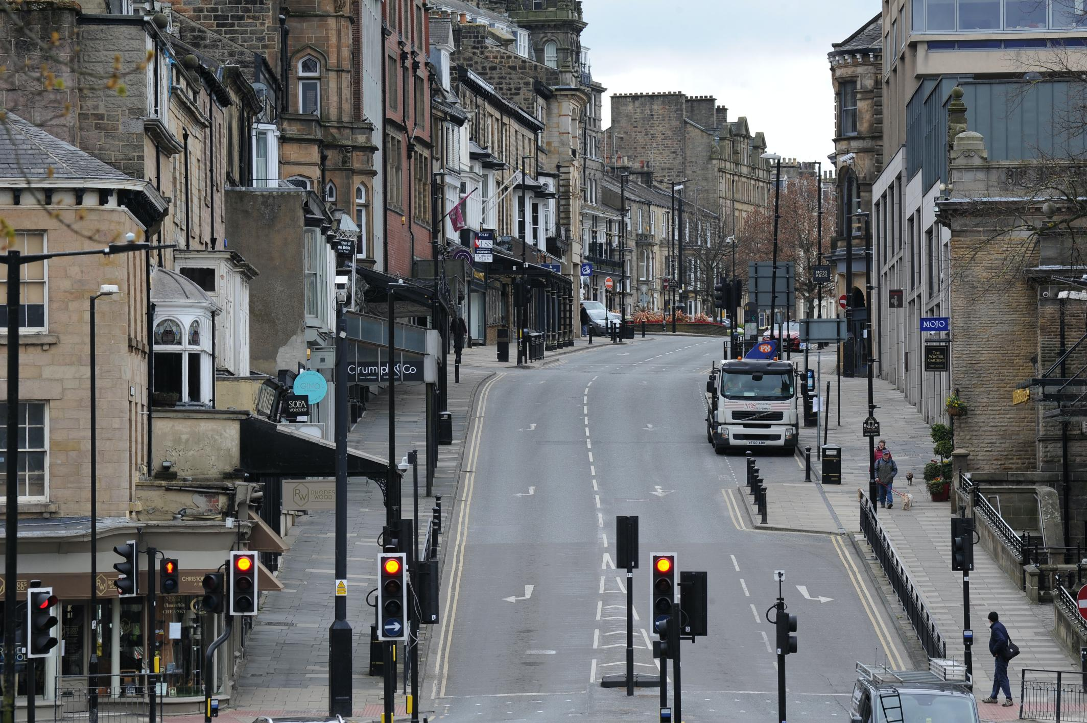 Parliament Street in Harrogate