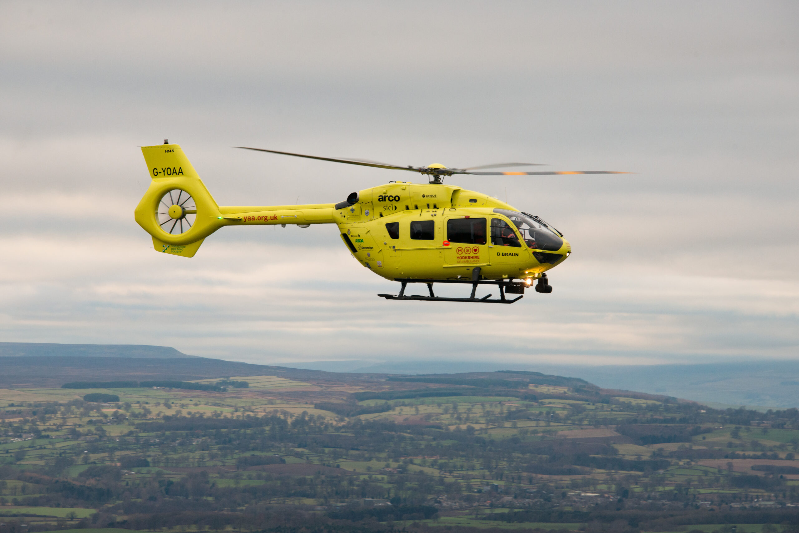Air ambulance called to medical emergency in Ripon