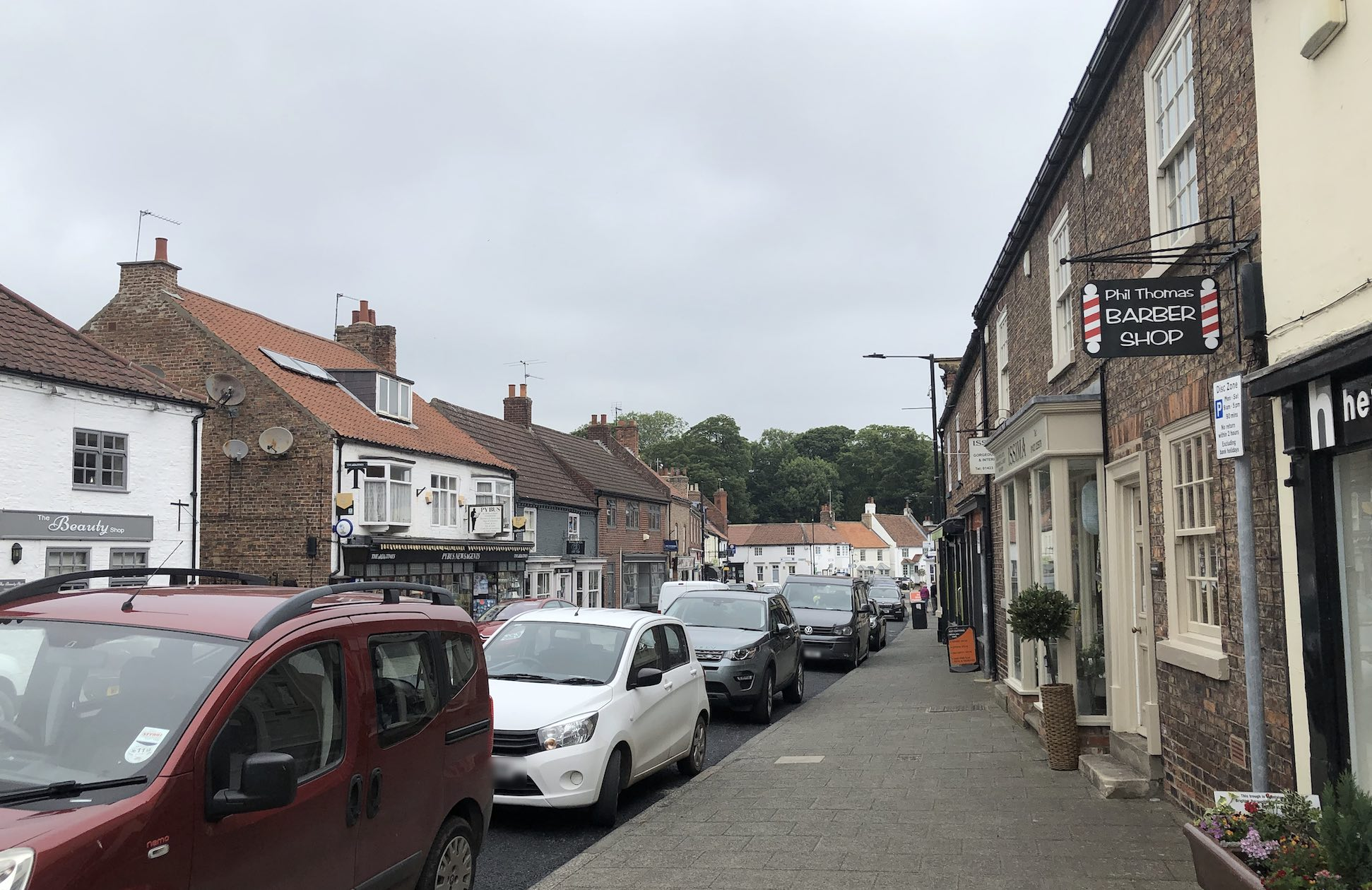 """Boroughbridge is a """"small, safe bubble"""" say shop owners"""