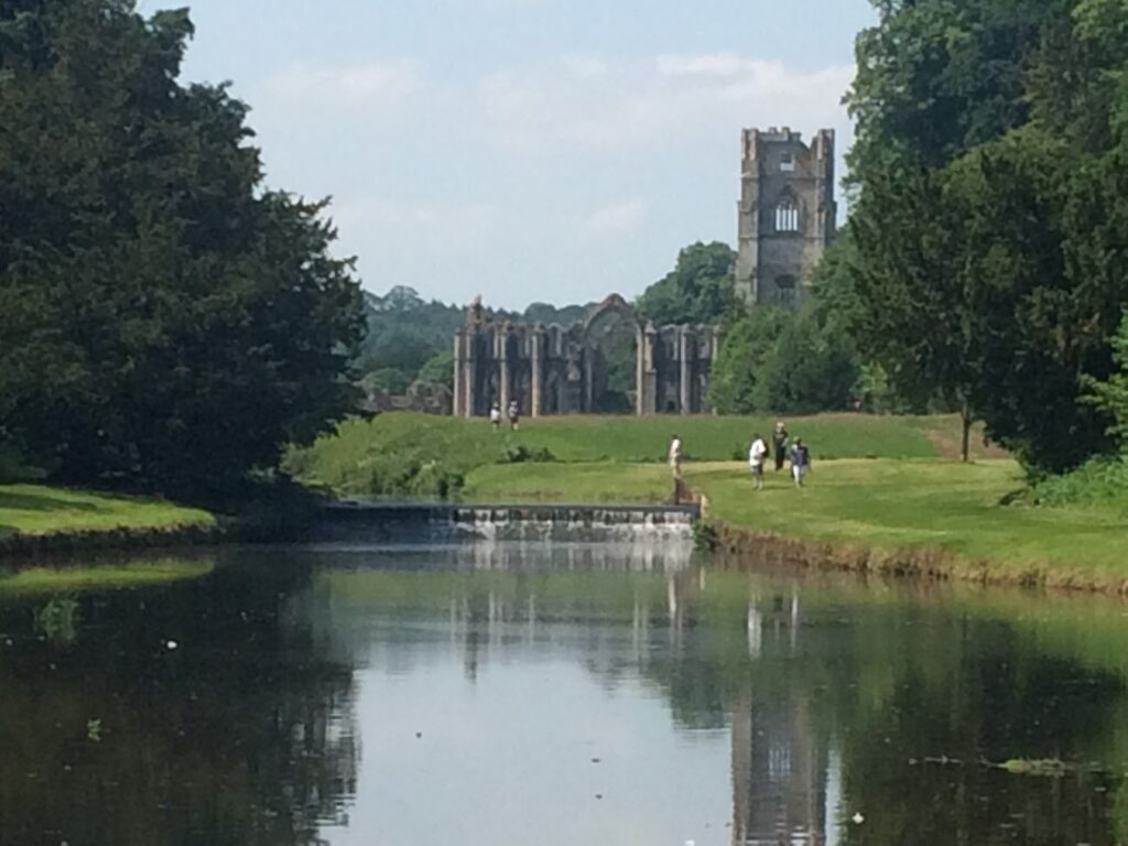 Photo of the River Skell at Fountains Abbey