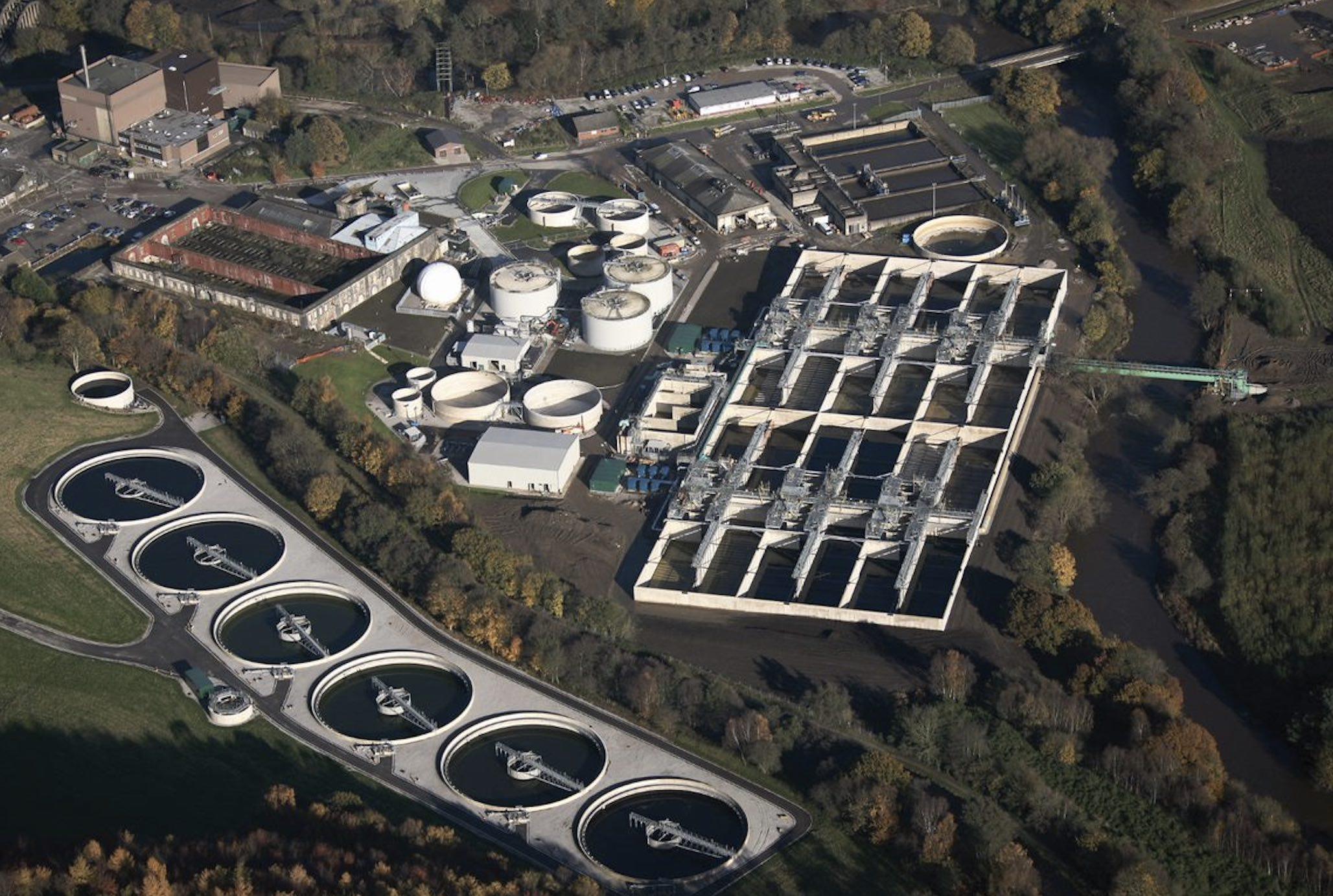 Esholt wastewater treatment centre