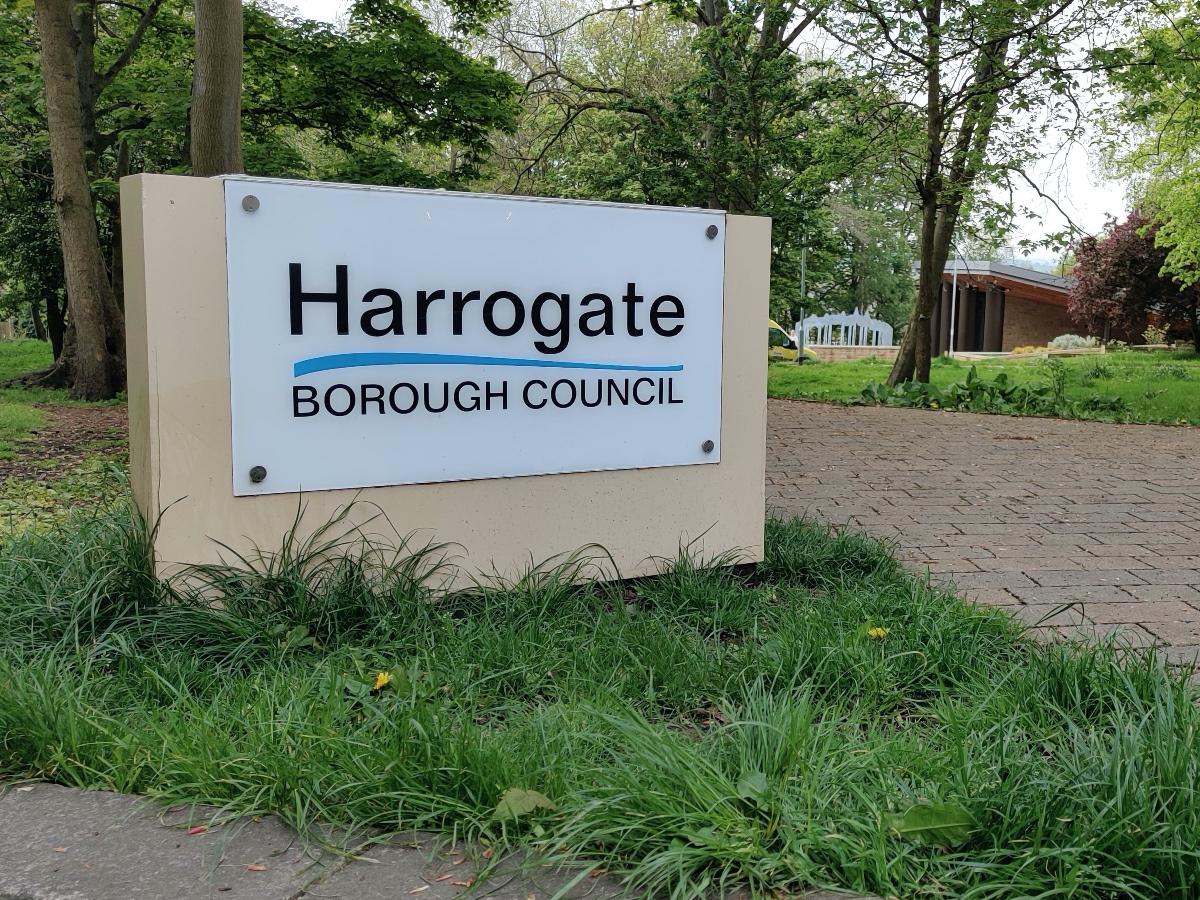 Harrogate Borough Council offices.