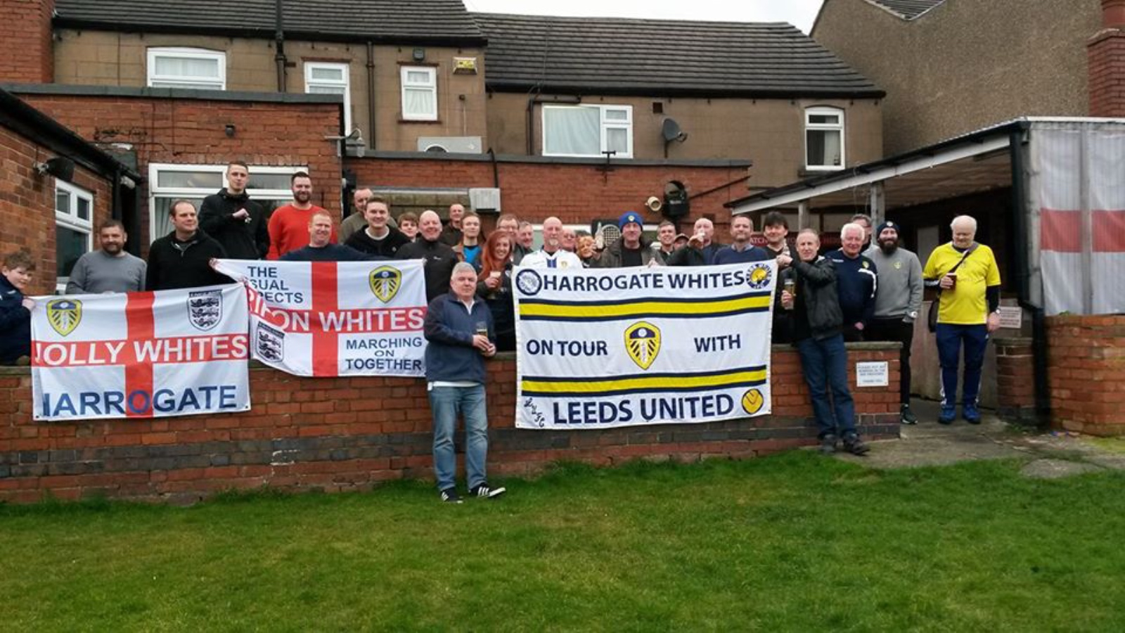 Harrogate and District Leeds United Supporters group.