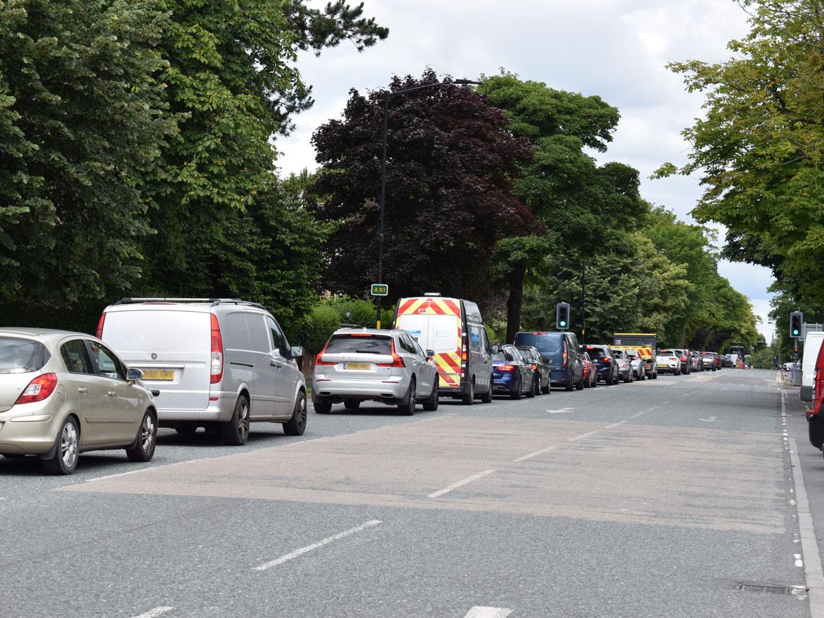 Lockdown blamed for influx of Harrogate roadworks