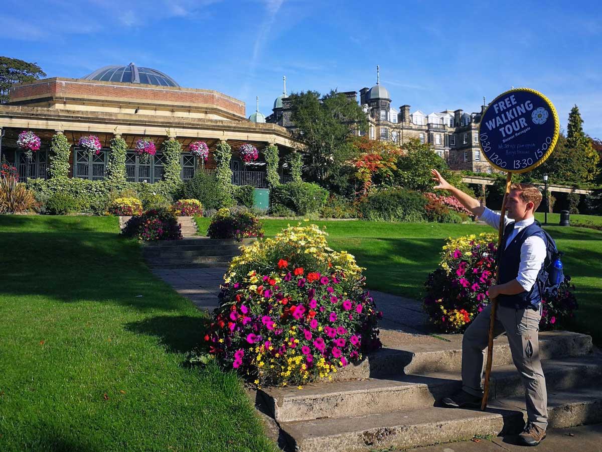 Free walking tours in Harrogate back for smaller groups