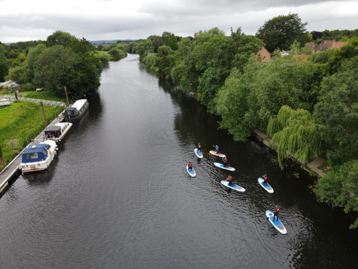 Paddle board litter pick set for Boroughbridge this weekend