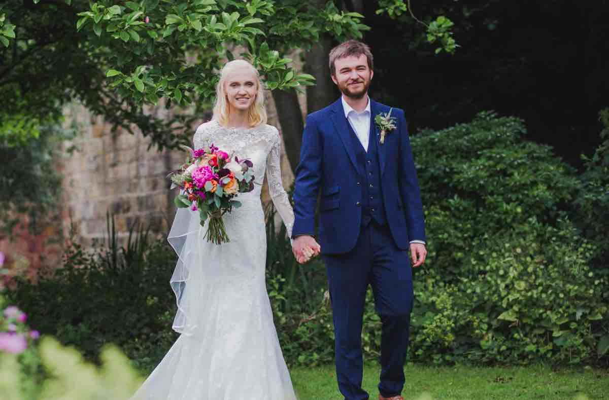Harrogate couple among first to tie the knot post lockdown