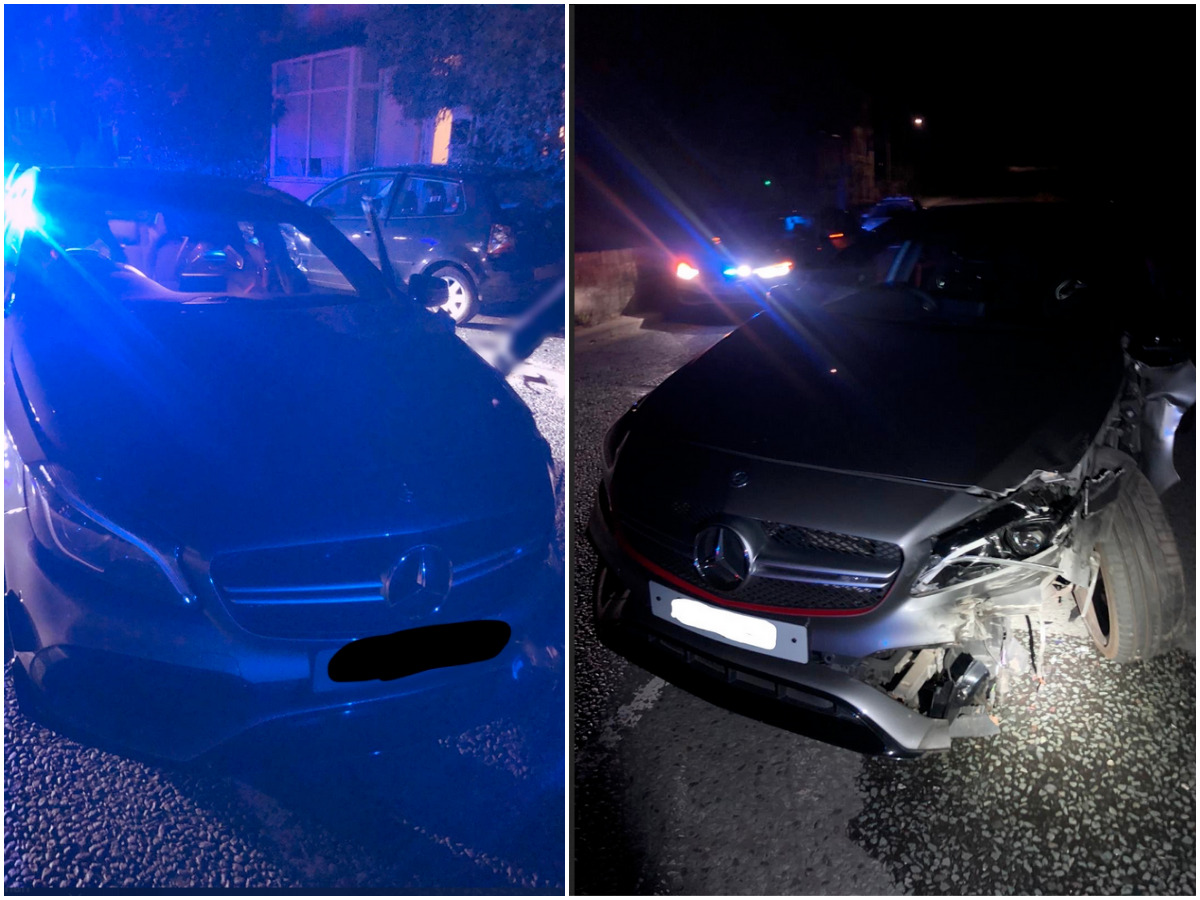 Harrogate high speed police chase ends in crash and arrest