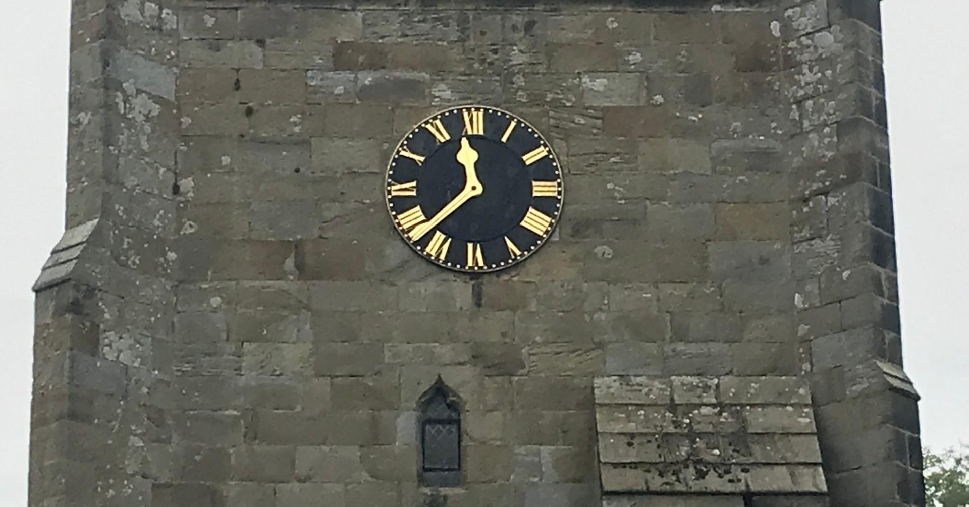 Time stands still in Kirkby Malzeard