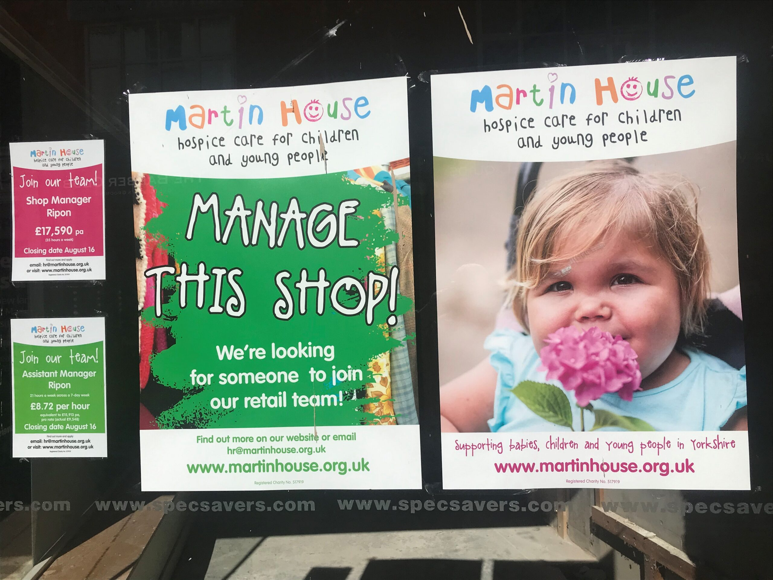 Martin House to open Ripon charity shop