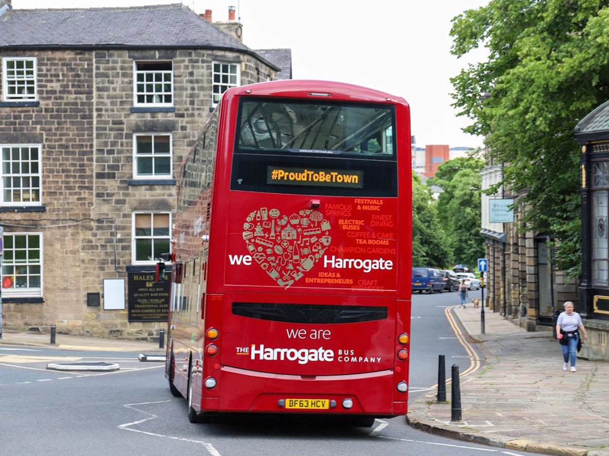 New bus service from Harrogate to Leeds Bradford Airport