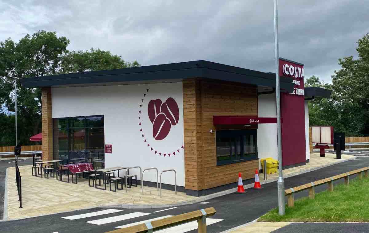 Costa drive-thru opens this week in Harrogate