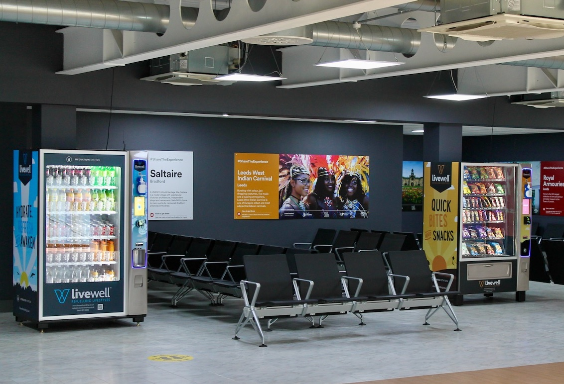 Harrogate firm to supply 'covid-safe' vending machines to airport
