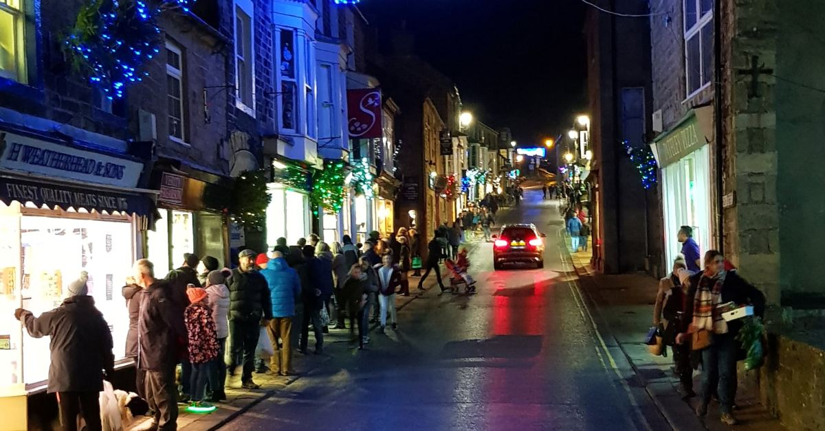 Lights appeal will ensure that Pateley sparkles