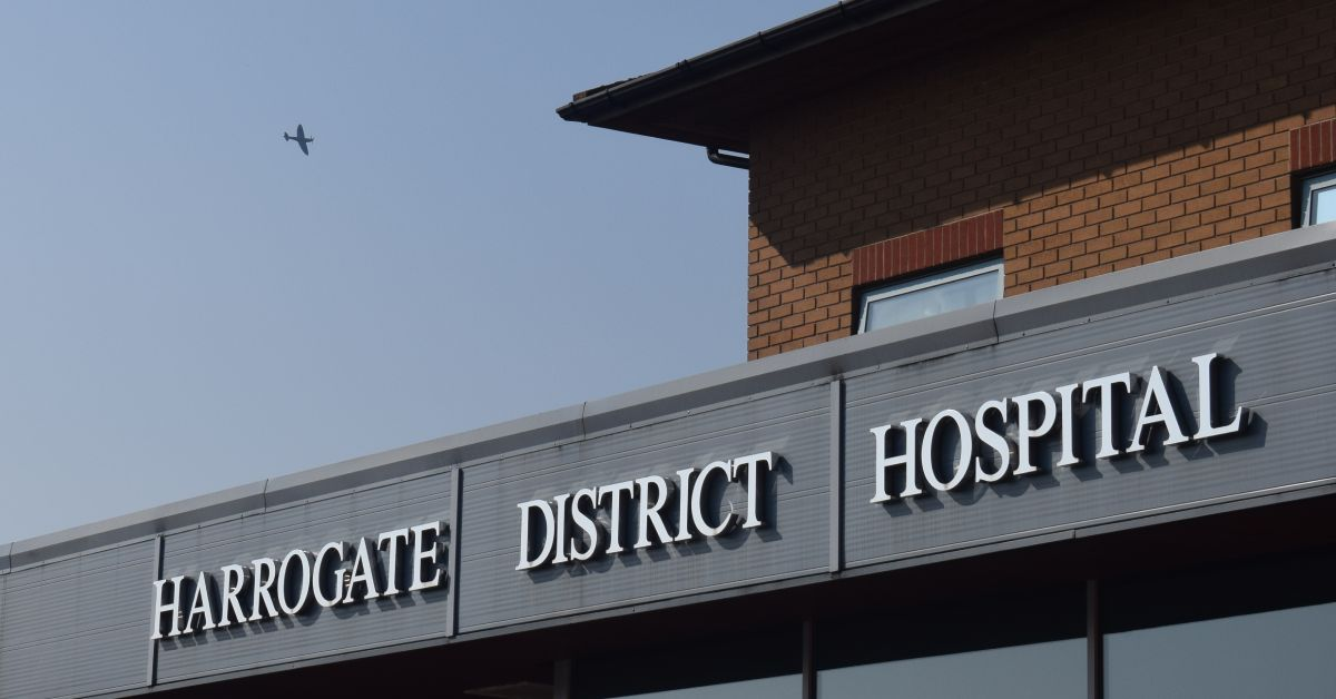Number of covid patients at Harrogate hospital triples