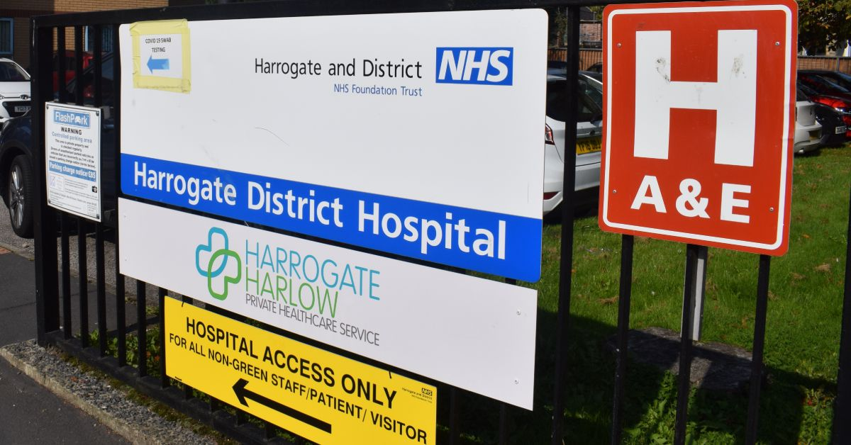 Harrogate hospital currently treating 10 coronavirus patients