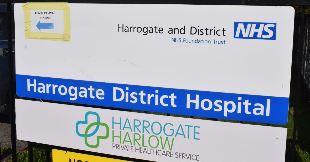 Harrogate hospital goes 10 days without a covid death