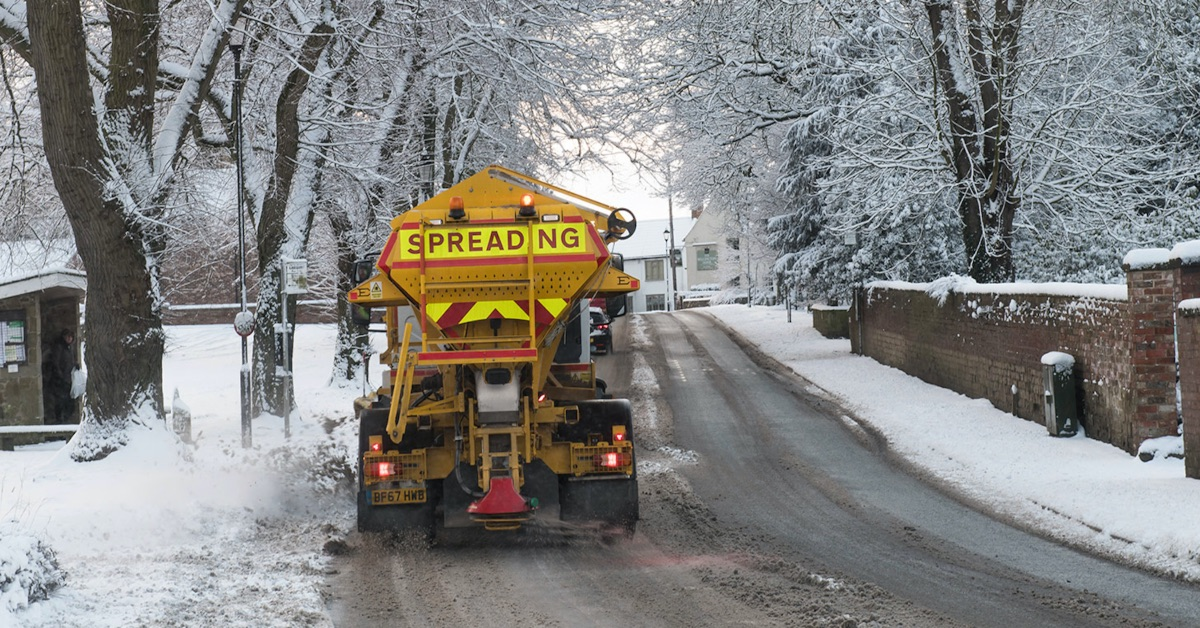 More efficient gritters to save County Council £120,000