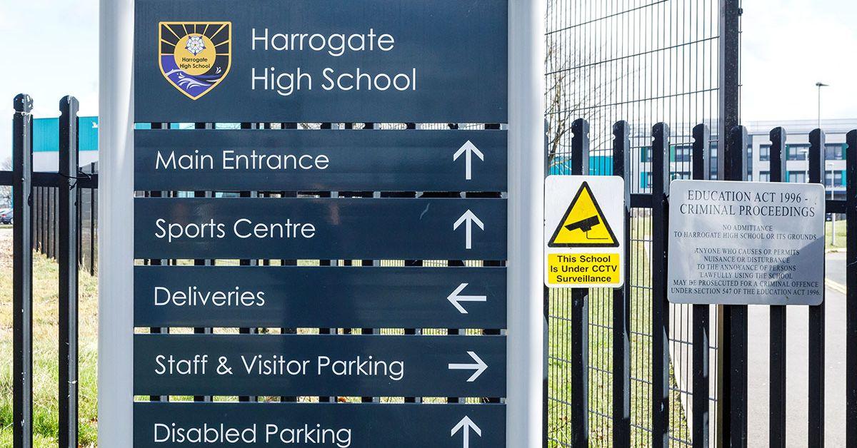 Harrogate High School reports covid case