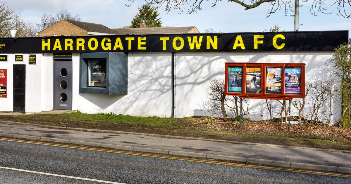 Harrogate Town submits plan for new ticket office and turnstiles