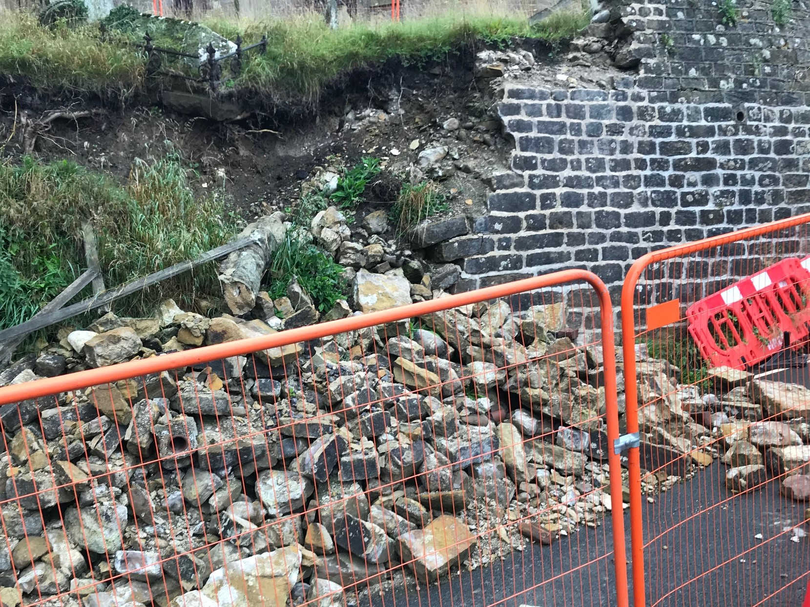 Church wall repair planned after six-month road closure