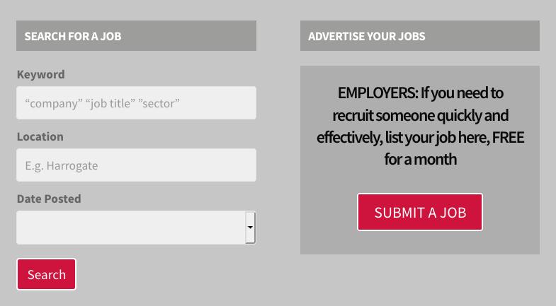 Jobs Board Search