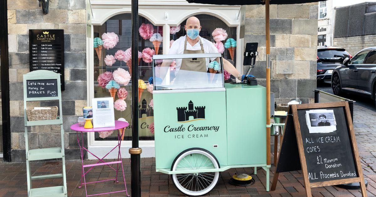 Knaresborough ice cream shop raises money for Frank's Fund
