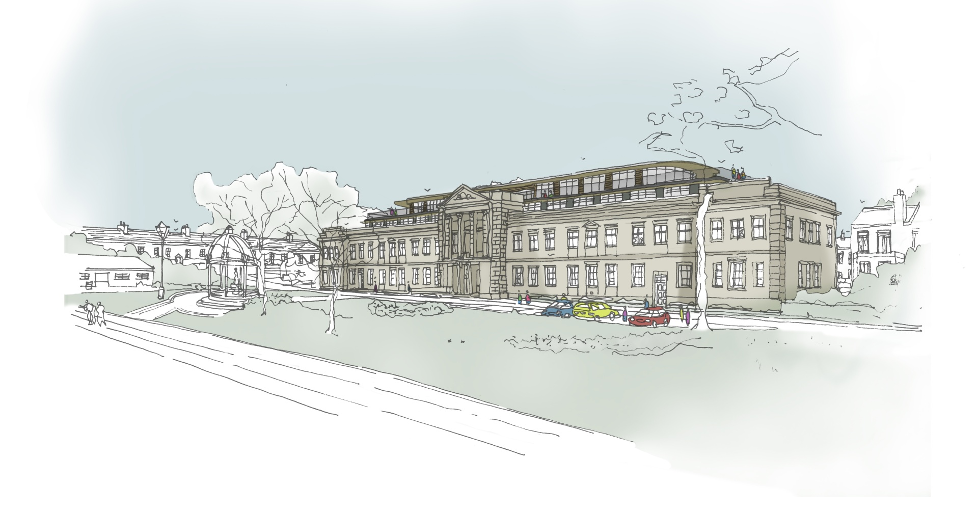 Consultation opens over plans to extend former council offices