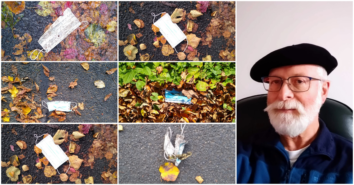 Harrogate face mask litter a 'sign of the times'