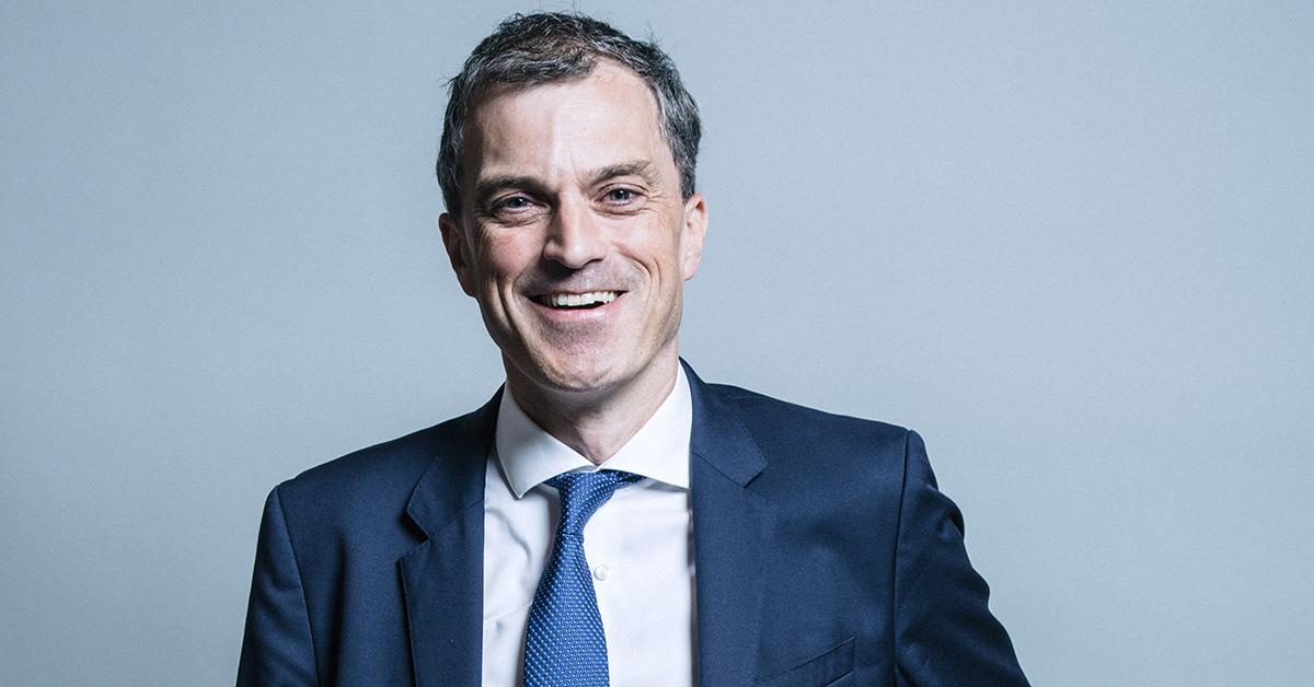 Julian Smith, MP for Ripon and Skipton.