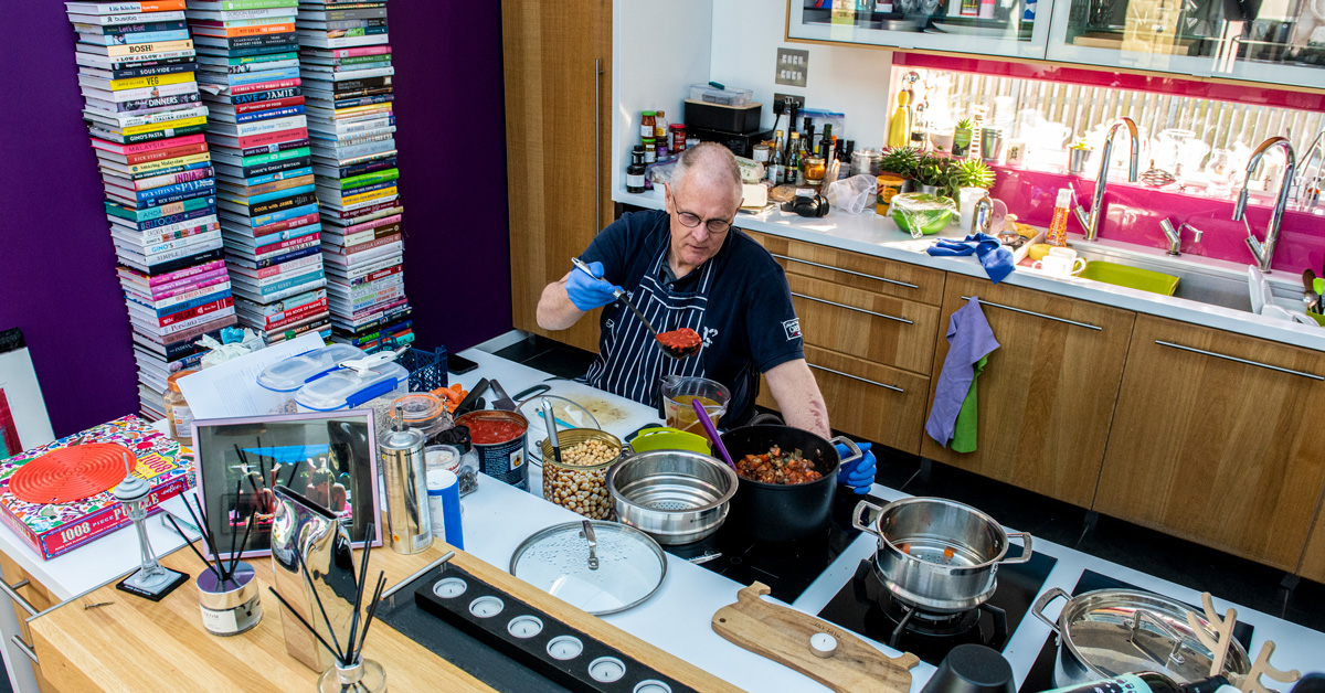 One incredible Harrogate man cooks 6,000 charity meals