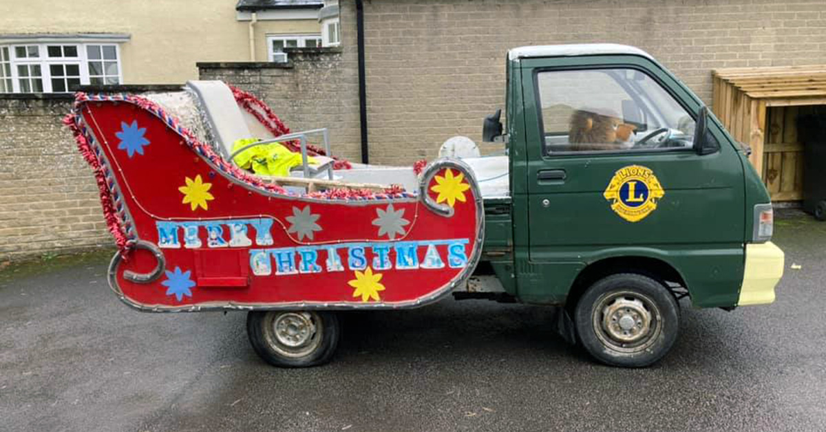 Ripon saves Santa's sleigh from scrap heap