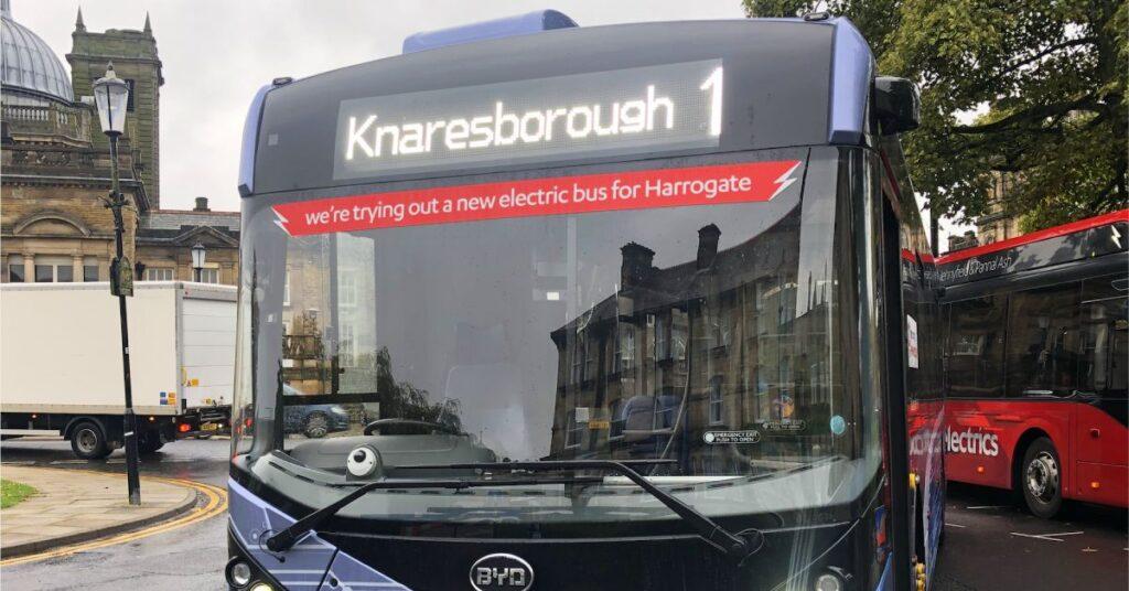 Knaresborough electric bus