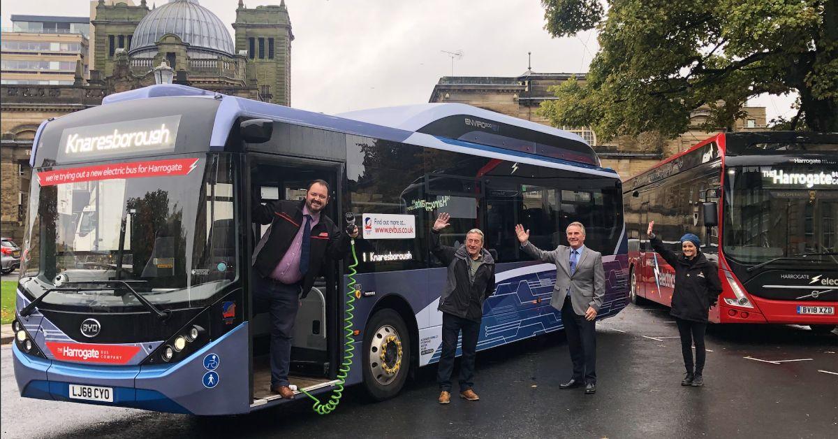 Knaresborough gets first electric bus