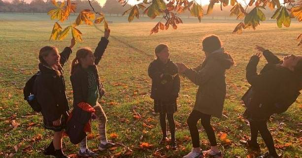 Highfield pupils earn 'eco-points' for walking and cycling to school