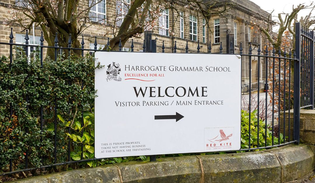 All 285 year 11 pupils at Harrogate Grammar sent home due to covid