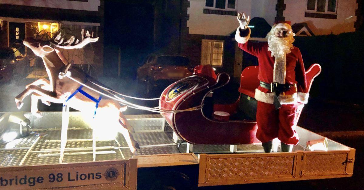 Boroughbridge Lions Christmas sleigh
