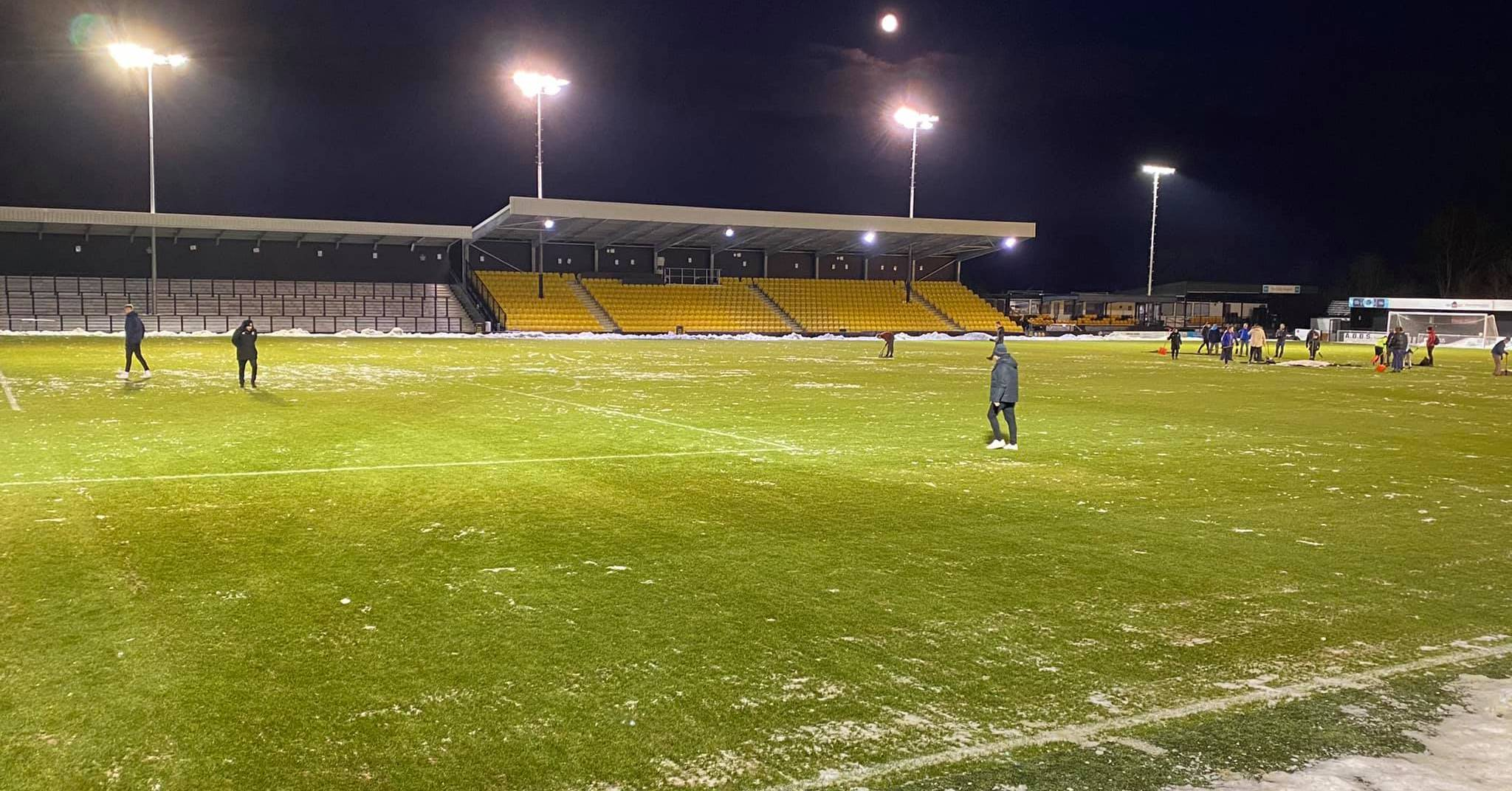 Frustration as Harrogate Town game abandoned after 10 minutes