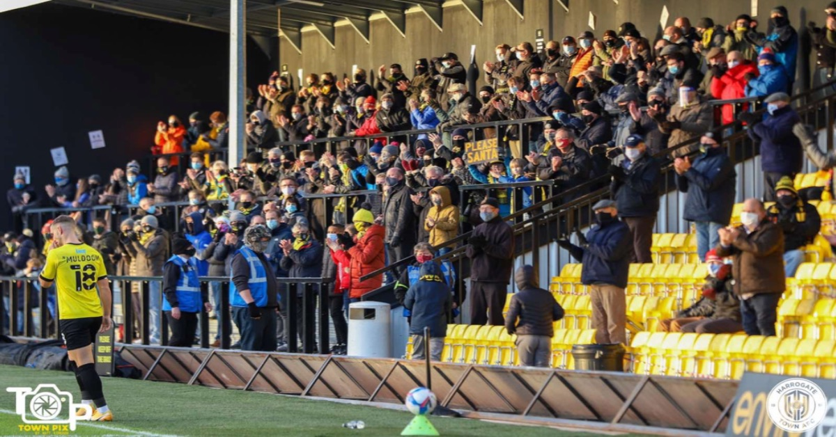 Harrogate Town allowed capacity crowds once covid restrictions end
