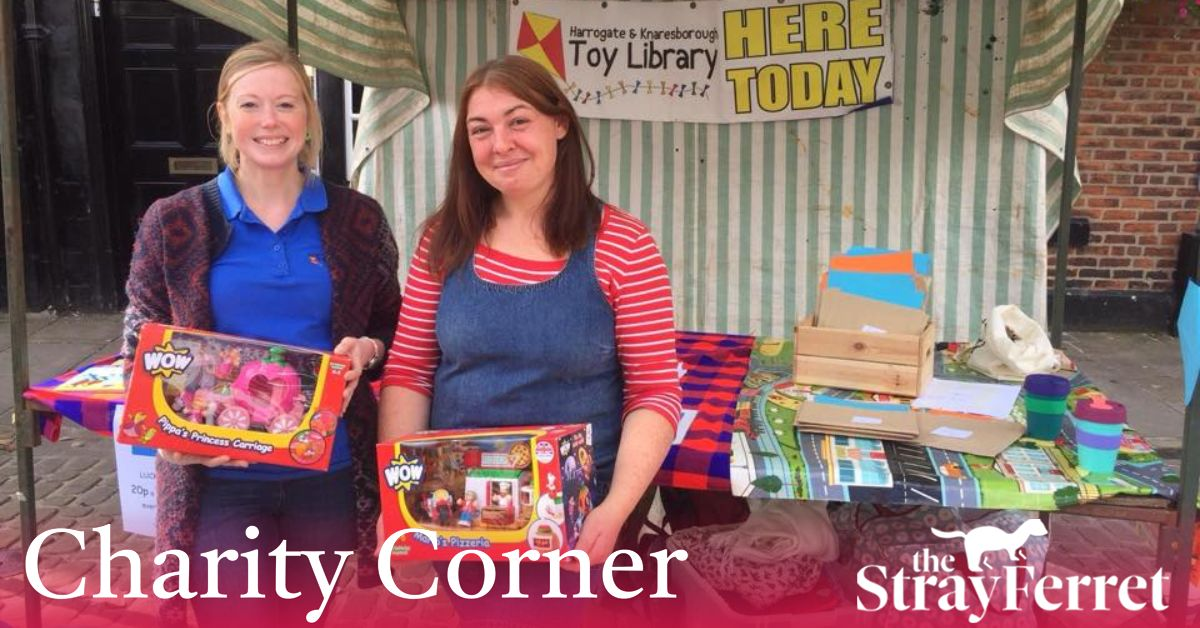 Charity Corner: a library of toys for children to explore