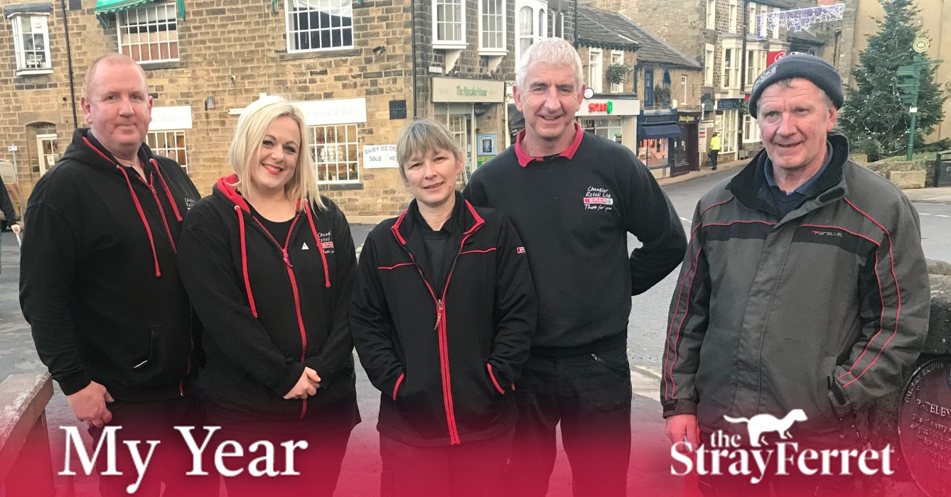 My Year: From floods to pandemic, Pateley Bridge shop team pitches in