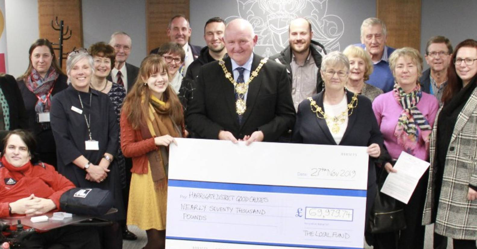 Harrogate district charities receive £200,000 boost