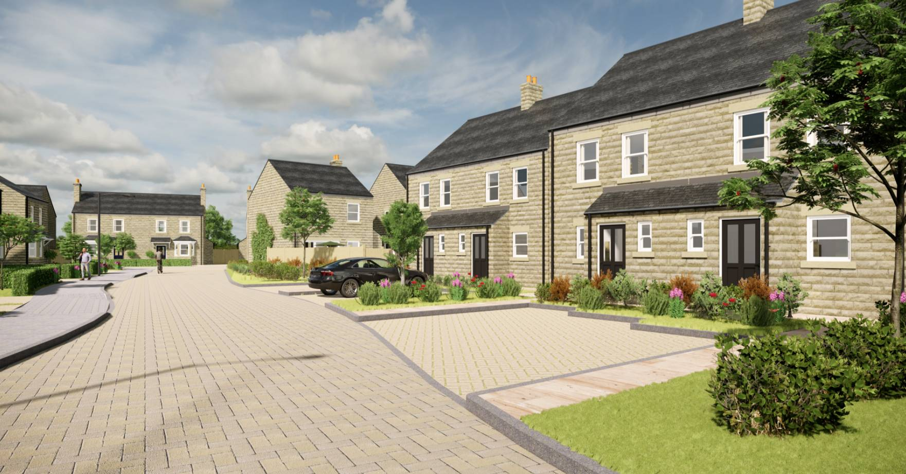 County council to build 20 homes in Pateley Bridge