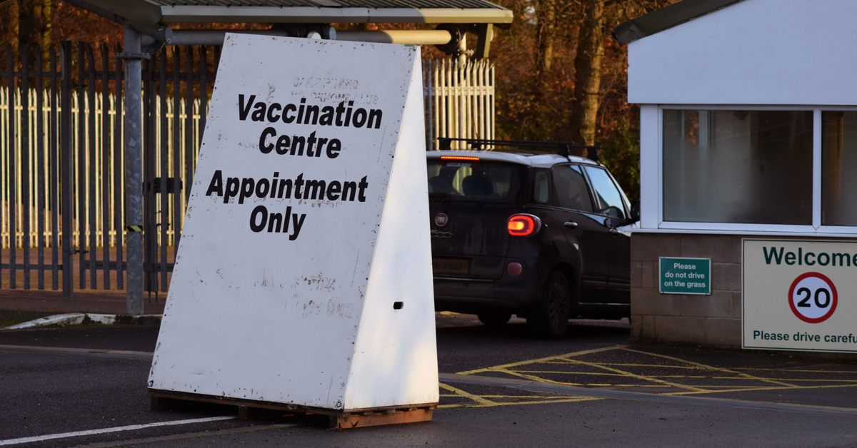 Covid vaccinations postponed after snow