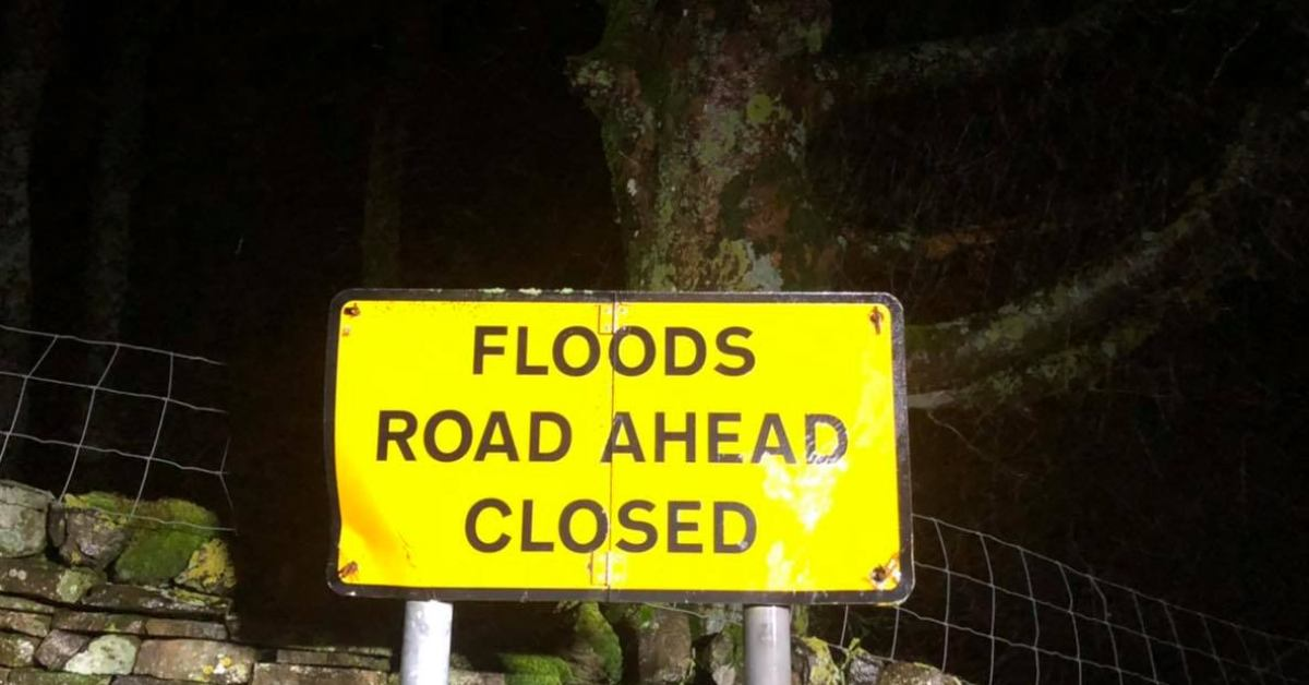 Nidd, Ure, Crimple and Knaresborough caravan park on flood alert