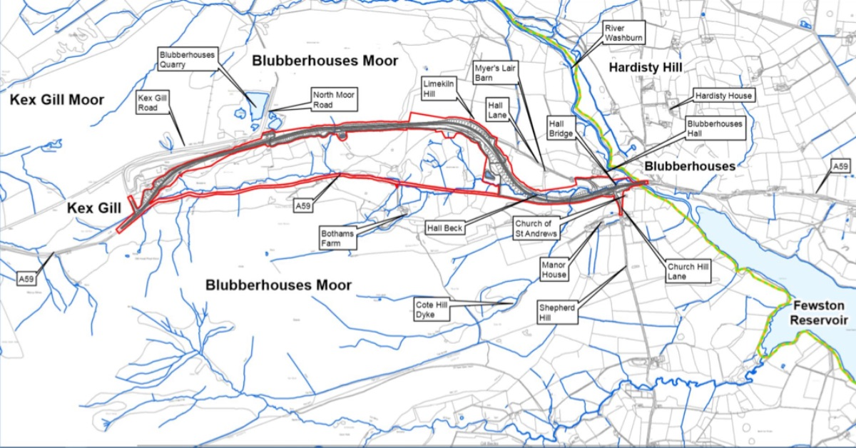 £60 million A59 Kex Gill reroute in line for approval