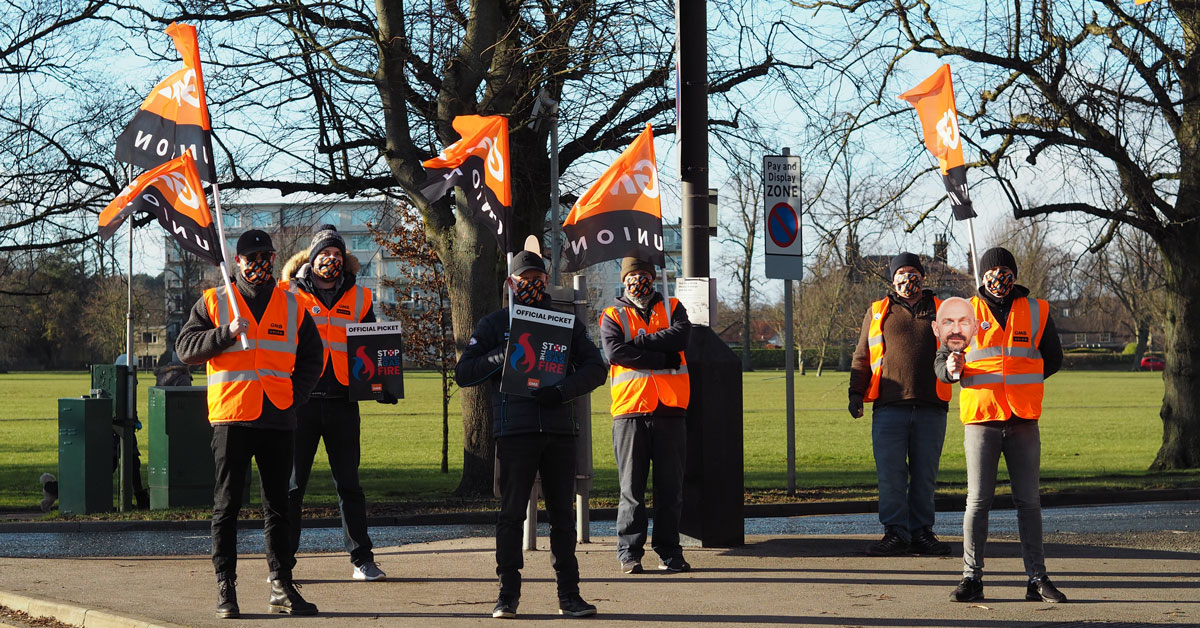 British Gas engineers in Harrogate strike over pay and conditions