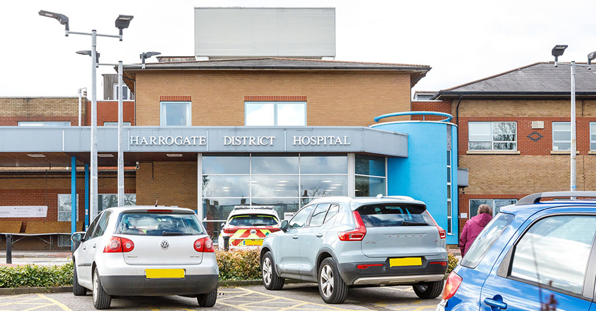 Harrogate hospital records another covid death