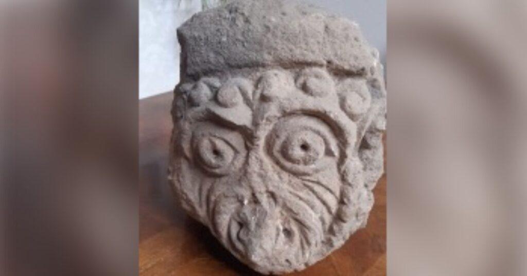 Artefact on loan to Knaresborough Museum